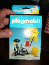 BRAND NEW IN BOX Rare Playmobil 2954 Sheriff & Wife - $19.99