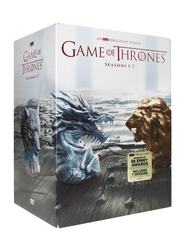 Game of Thrones: The Complete TV Series Seasons 1-7 (DVD, 2017 New)