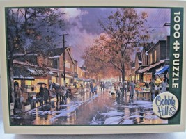 """Cobble Hill """"Kensington Market"""" Made in Canada! 1000 Pc Jigsaw Puzzle!  - $14.35"""