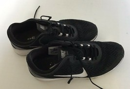 Nike Black and White Ladies Mesh Athletic Training Lace Up Shoe Size US ... - $18.69