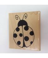 JRL Design Co. Q297 Ladybug Luck Rubber Stamp Hobby Craft Scrapbooking - $9.46