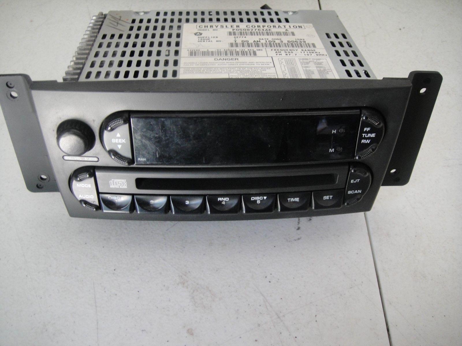 04 05 06 07 08 Chrysler Pacifica Radio Cd Player P05082764AE