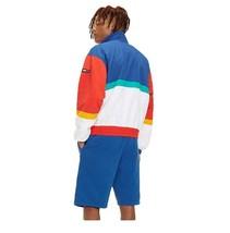 Jacket Man Tommy Jeans Hilfiger Denim White Multicolor Logo Vintage Urban image 2