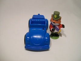 Vintage Playskool Puzzletown Richard Scarry Mayor Fox Town Center Car - $16.95