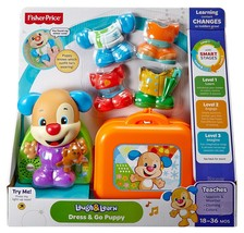 Fisher-Price Laugh & Learn Dress & Go Puppy - $11.35