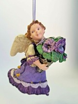 Hallmark Keepsake Ornament - Language of Flowers- Pansy Angel 1996 1st i... - $11.53