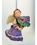 Hallmark Keepsake Ornament - Language of Flowers- Pansy Angel 1996 1st i... - $11.53