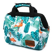 Insulated Lunch Box Lightweight lunch Tote Reusable Lunch bags for Women Flaming - $9.92
