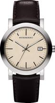 Burberry BU1777 Heritage Swiss Made Leather Mens Watch - $189.90