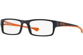 477ef3708f Oakley Eyeglasses Tailspin OX1099-0553 Satin Black Orange Frames 53mm  Rx-ABLE -  98.99