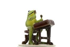 Hagen Renaker Miniature Frog Froggy Mountain Breakdown Dulcimer Ceramic Figurine image 1