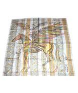 "Hermes Shawl Le Pegase d'Hermes 140 cm GM Silk 56"" scarf Pegasus - $1,178.10"