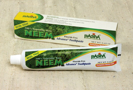 ...New! Neem All Natural Toothpaste (Halal Brand) (-animal free) (Four Tubes) - $19.80