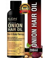 ESSENTIALS OF NATURE Onion Hair Oil with Blend of 21 Proven200ml - $40.90