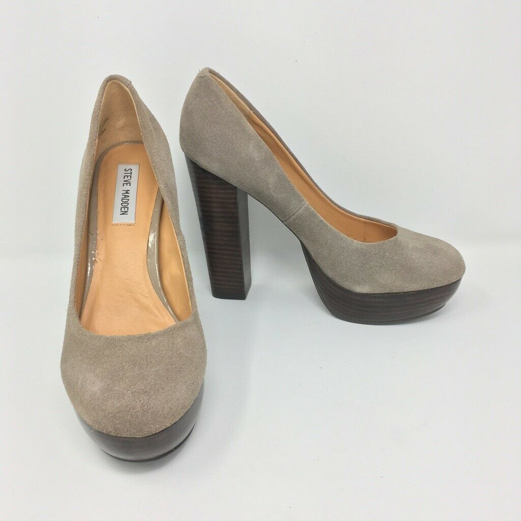 e24efe87fc2 Steve Madden Platform Shoes, Size 8.5, Tan, and 50 similar items