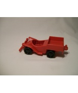 Playskool Puzzletown Set E Richard Scarry Vintage 1976 Red Car Toy - $12.95