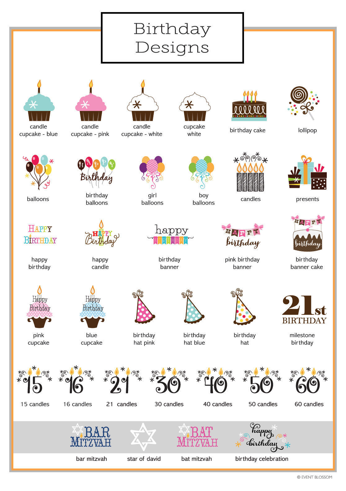150 Personalized Themed Playing CARDS Birthday Bar Mitsvah or Party Favor