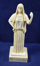 Hestia sculpture statue ancient Greek Goddess of the agriculture aged - $32.99