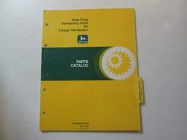 John Deere Row-Crop Raccolta Unità per Foraggio Macchine la Catalogo Ric... - $9.84