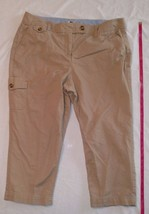 JONES NEW YORK SPORT Womens Capris 14 Ladies Bottoms Pockets Lady Solid ... - $19.95