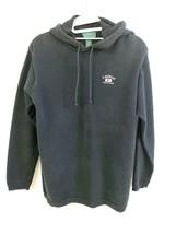 """Ralph Lauren LRL Womens S Thermal Hoodie  Black Long Sleeve """"67"""" Logo - $29.00"""