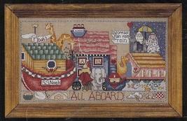 Janlynn Noah Collector #89-63 Counted Cross Stitch Kit 1995 NIP Noah's Ark - $10.99