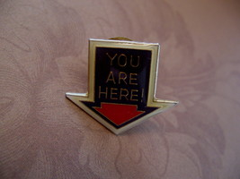 You Are Here Directional Souvenir Lapel Hat Pin - $4.99