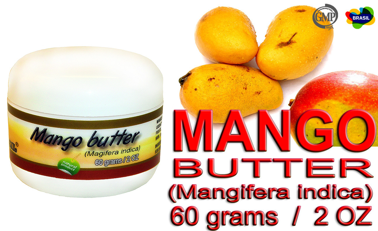 Primary image for Brazilian Mango Butter - Pure and 100% Natural - Oca-Brazil