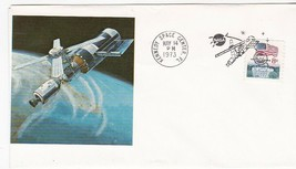 SKYLAB LAUNCH KENNEDY SPACE CENTER FLORIDA MAY 14 1973 UNKNOWN PRINTED C... - $1.78