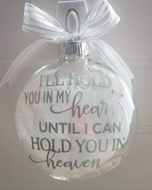 Amy's Bubbling Boutique Heaven Memorial Ornament Filled with White Angel... - $38.15