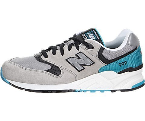 New Balance 999 Sound and Stage Mens Running Shoes (8.5 D(M) US, Grey/Teal)