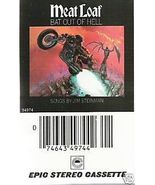 Meat Loaf - Bat Out Of Hell (Cassette 1977) - $4.00