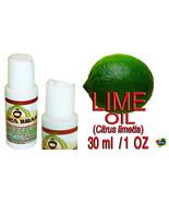 Brazilian Lime Oil  - 100% Natural - Organic - Oca-Brazil  - $4.00