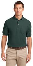 Port Authority K500P Men's Soft Pocket Polo Shirt - Dark Green - $16.38+