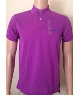 Ralph Lauren Mens Bright Purple Polo Shirt Custom Fit Size Small - $85.18