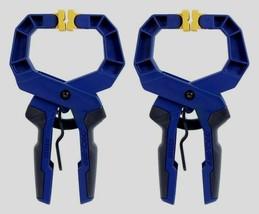 "2 Irwin Quick-Grip Heavy-Duty Locking HANDI-CLAMP Tool Workshop Clamp 2"" 1799212 - $19.74"