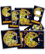 VIDEO GAME THEME PAC MAN ARCADE BOARD LIGHT SWITCH WALL PLATE OUTLET ROO... - $8.99+