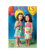 McCall's Patterns M7143 Toddlers'/Children's Dresses Sewing Template, CF... - $14.21