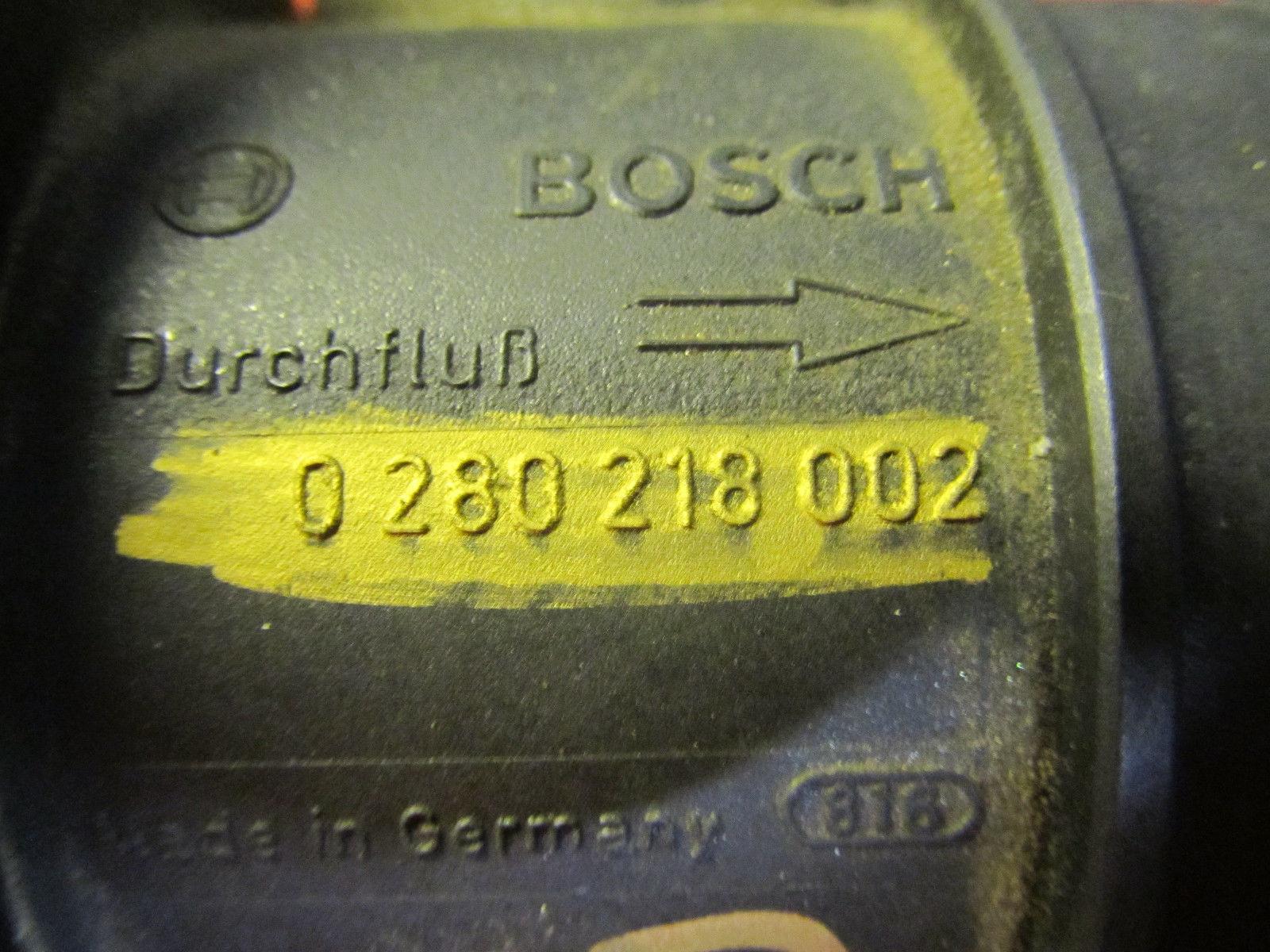 98 01 00 99 VW bug Beetle jetta golf oem 2.0 mass air flow sensor 0280218002