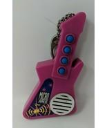 "1995 Micro Jammers  6"" Rock Guitar Pink Cap Toys VTG Needs Batteries Key... - $9.89"