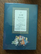 I Saw Esau, Edited by Iona & Peter Opie, Illustrated by Maurice Sendak - $63.70
