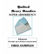 XL 150 Quilted Puppy Training Pads Heavy Duty Super Absorbency 56 Grams ... - $41.95