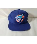 Toronto Blue Jays Vintage Snapback Hat Baseball Cap Blue Adjustable - $50.72