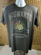 Harry Potter Cotton Shirt Hogwarts School Of Wizardry & Witchcraft TShir... - $15.20