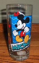 Vintage Anchor Hocking  Disney's Mickey and Minnie Mouse Glass W/Tag - $12.99