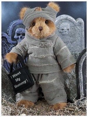 "Primary image for Bearington Bears ""Morty Mummy"" 10"" Plush Bear- #181317 - NWT- 2010"