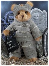 "Bearington Bears ""Morty Mummy"" 10"" Plush Bear- #181317 - NWT- 2010 - $29.99"