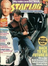 Starlog Magazine #150, 1990 Back to the Future II NM - $7.80