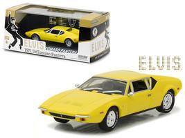 """1971 De Tomaso Pantera Yellow \""""Elvis Presley\"""" (1935-1977) 1/43 Diecast... - $30.34"""