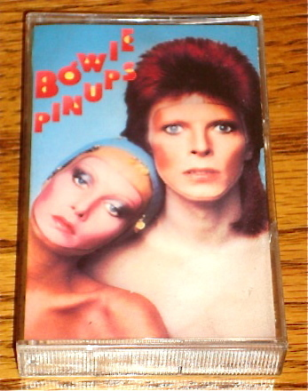 DAVID BOWIE PIN UPS ORIGINAL CASSETTE w/Two Bonus Tracks